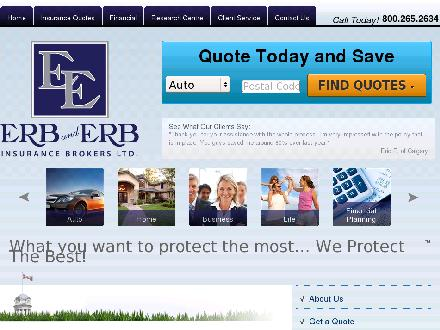 Erb and Erb Insurance Brokers Limited (226-444-2270) - Onglet de site Web - http://www.erb-erb.com