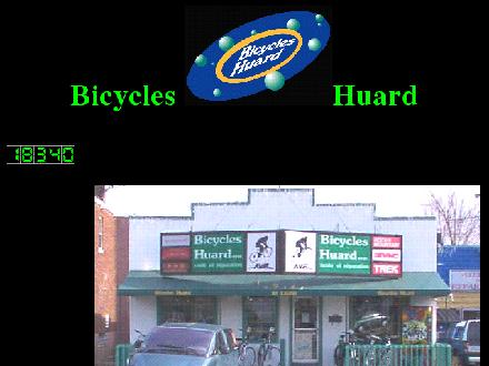 Bicycles Huard Inc (450-467-4604) - Onglet de site Web - http://www.bicycleshuard.ca