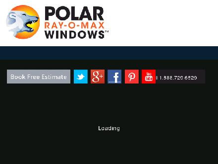Polar Ray-O-Max Windows (780-448-1661) - Onglet de site Web - http://www.polarrayomaxwindows.com