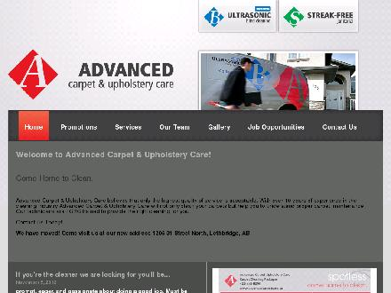 Bridge Ultrasonic Blind Cleaning (403-317-4767) - Onglet de site Web - http://www.advancedcarpetcare.ca
