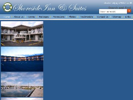 Shoreside Inn & Suites (780-892-4773) - Website thumbnail - http://www.shoresideinn.com