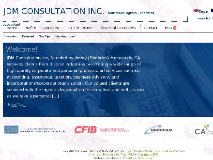 JDM Consultation (514-844-4536) - Website thumbnail - http://www.jdmconsultation.com