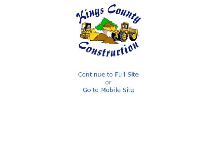 Kings County Construction Ltd (902-838-2191) - Onglet de site Web - http://www.kccpei.com
