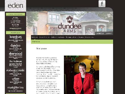 Dundee Arms Inn (902-892-2496) - Website thumbnail - http://www.eden.travel/dundee