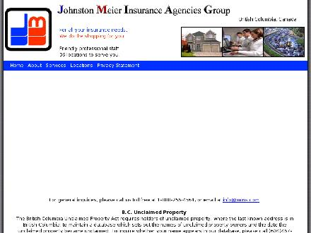 Johnston Meier Insurance Agencies Group (250-545-5311) - Website thumbnail - http://www.jmins.com