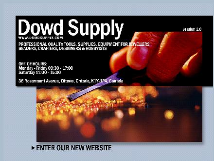 Dowd Supply Co (613-236-9493) - Onglet de site Web - http://www.dowdsupply.com