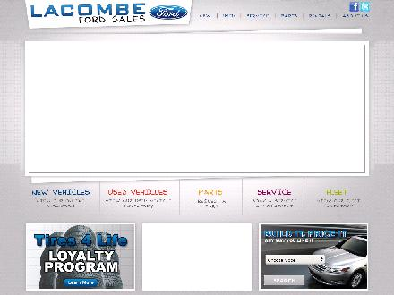 Lacombe Ford Sales Ltd (403-786-0983) - Website thumbnail - http://www.lacombefordsales.com