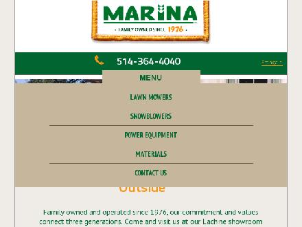 Ariens / Gravely (514-364-4040) - Website thumbnail - http://www.marina-inc.com