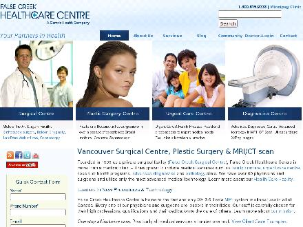 False Creek Healthcare Centre (604-696-4716) - Onglet de site Web - http://www.falsecreekhealthcare.com
