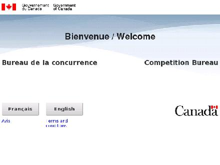 COMPETITION BUREAU CANADA - Website thumbnail - http://www.cb-bc.gc.ca