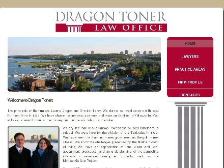 Dragon Toner Law Office (867-873-6000) - Website thumbnail - http://www.dragontoner.ca