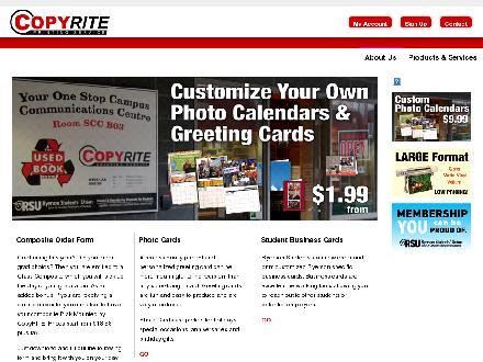 Copyrite Printing Service (416-979-5264) - Website thumbnail - http://www.copyrite.ca