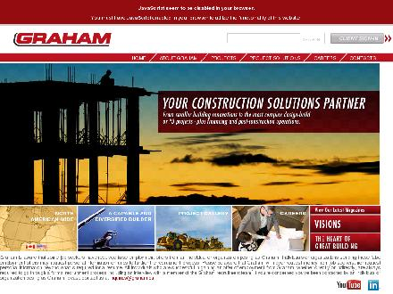 Graham Construction & Engineering Inc (604-940-4500) - Onglet de site Web - http://www.graham.ca