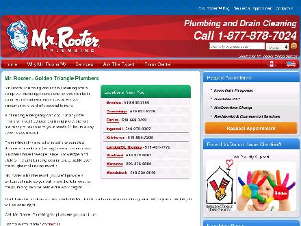 Mr Rooter (519-621-8776) - Website thumbnail - http://goldentriangle.mrrooter.ca/