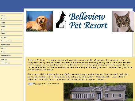 Belleview Pet Resort (613-360-5505) - Onglet de site Web - http://belleviewpetresort.ca
