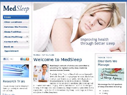 Moncton Sleep Institute (506-383-5101) - Website thumbnail - http://www.medsleep.com