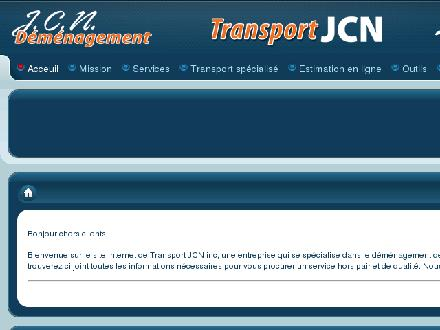 Transport J C N (438-792-6095) - Website thumbnail - http://www.jcndemenagement.com/