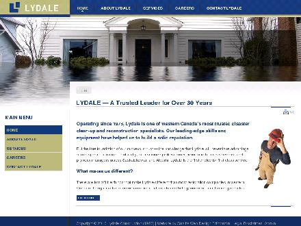 Lydale Construction (780-822-1200) - Website thumbnail - http://www.lydale.com