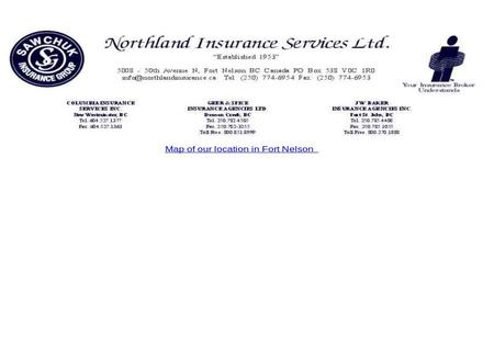 Northland Agencies (250-774-6954) - Website thumbnail - http://www.northlandinsurance.ca