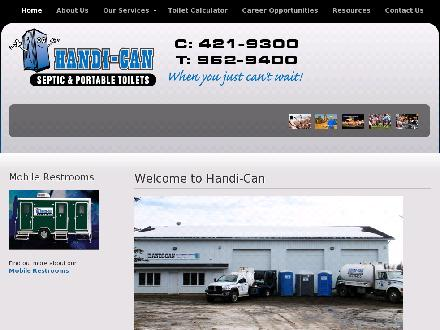 Handi-Can (2003) Ltd (780-421-9300) - Website thumbnail - http://www.handican.ca