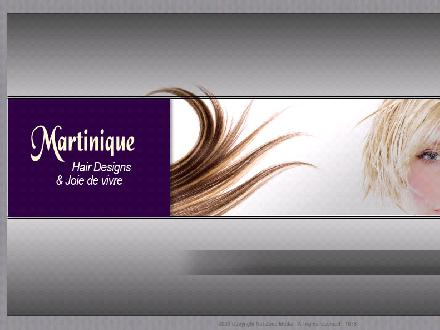 Martinique Hair Designs & Wigs (506-800-0631) - Onglet de site Web - http://www.martiniquehairdesign.ca