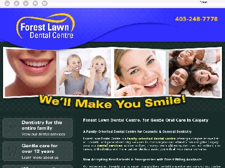 Forest Lawn Dental Centre (403-248-7778) - Website thumbnail - http://forestlawndentalcentre.ca/