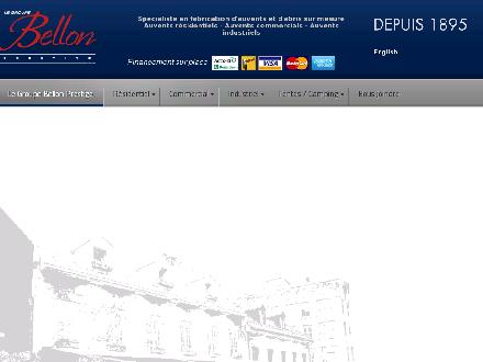 Auvents Bellon Inc (Les) (514-526-0894) - Onglet de site Web - http://www.bellon.qc.ca