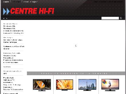 Centrehifi.com - Onglet de site Web - http://www.centrehifi.com