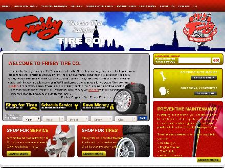 Frisby Tire Co (613-224-2200) - Website thumbnail - http://www.frisbytire.com