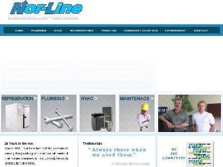Nor-line Plumbing & Mechanical Ltd (416-233-5535) - Onglet de site Web - http://www.nor-line.com