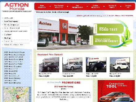 Action Honda (416-281-1234) - Onglet de site Web - http://www.myactionhonda.com