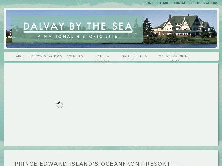 Dalvay By The Sea Hotel &amp; Restaurant (902-672-2048) - Onglet de site Web - http://www.dalvaybythesea.com