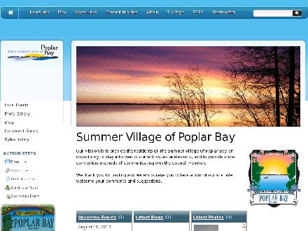Poplar Bay Park Tourist Camp (204-345-2993) - Website thumbnail - http://www.poplarbay.ca