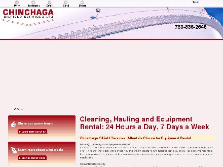 Chinchaga Oilfield Services Ltd (780-836-2646) - Onglet de site Web - http://chinchagaoilfield.ca