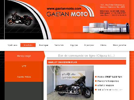 Ga&eacute;tan Moto Suzuki (418-648-0621) - Onglet de site Web - http://www.gaetanmoto.com
