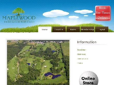 Maplewood Golf & Country Club (506-858-7840) - Website thumbnail - http://www.maplewoodgolf.ca