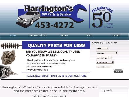 Harrington's (902-701-8043) - Website thumbnail - http://www.harringtonshalifax.com