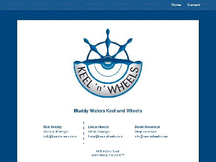 Muddy Waters Keel And Wheel (519-627-8195) - Website thumbnail - http://www.keelnwheels.com