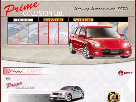Prime Collision Ltd (604-585-2301) - Website thumbnail - http://www.primecollision.ca