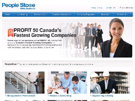 People Store Staffing Solutions Inc (905-277-4455) - Website thumbnail - http://www.peoplestore.ca
