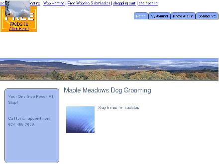 Maple Meadows Dog Grooming (604-465-7600) - Onglet de site Web - http://www.maplemeadowsdoggrooming.0catch.com/