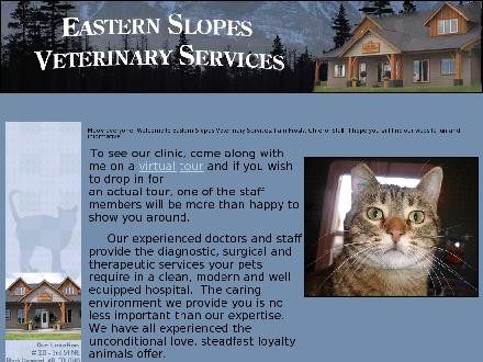 Eastern Slopes Veterinary Services Ltd (403-933-3532) - Onglet de site Web - http://www.easternslopesvet.com
