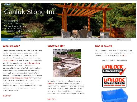 Canlok Stone Inc (613-800-1135) - Onglet de site Web - http://www.canlok.com