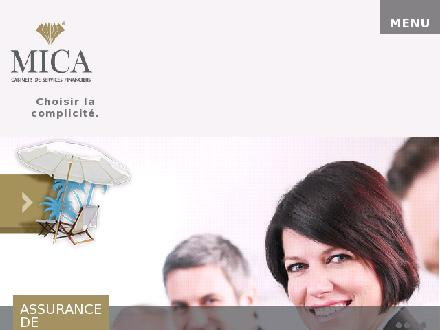 MICA services financiers (418-622-6422) - Website thumbnail - http://www.micasf.com