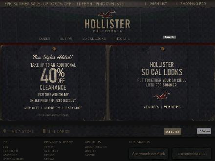 Hollisterco.ca - Onglet de site Web - http://www.hollisterco.ca