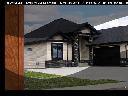 Proline Construction Ltd (780-903-3711) - Website thumbnail - http://www.prolineconstruction.ca