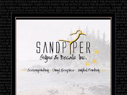 Sandpiper Signs & Decals Inc (604-464-9699) - Website thumbnail - http://www.sandpipersigns.com