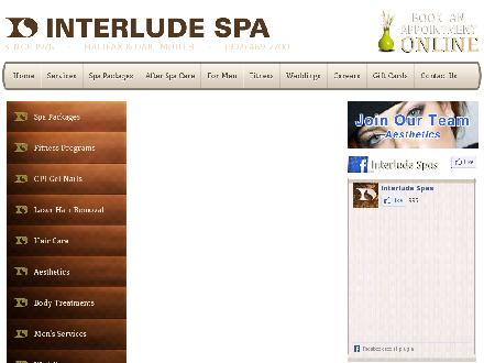 Interlude Spas (902-469-2700) - Website thumbnail - http://www.interlude.com