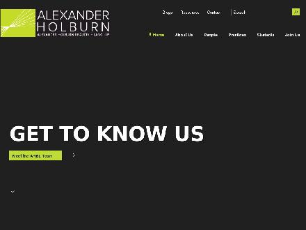 Alexander Holburn Beaudin + Lang LLP (604-484-1700) - Onglet de site Web - http://www.ahbl.ca