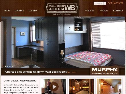 Wall-Beds Alberta Inc (780-490-1818) - Onglet de site Web - http://www.wallbedsalberta.com